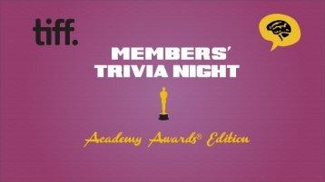 Academy Awards Edition - Media