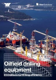 Catalogue: Oilfield drilling equipment - Aker Solutions
