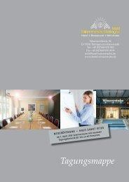 Tagungsmappe als PDF - im Hotel und Restaurant Winzerstube ...