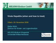 HELIOS Kliniken GmbH - Kinderabteilung LKH-Villach