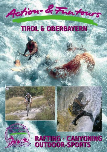 canyoning outdoor-sports - Action Funtours