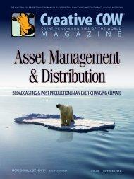 Read the COW Magazine Online - Creative COW Magazine