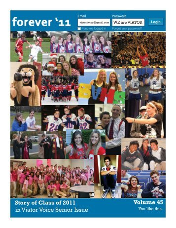 Senior Cover.indd - Saint Viator High School