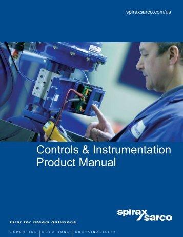 Controls & Instrumentation Product Manual - Spirax Sarco