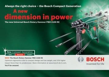 Download product brochure as PDF (1,7 MB - Bosch DIY