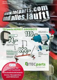 tecparts Herbst-Angebote - Amazon Web Services