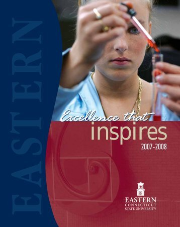 Excellence that Inspires - Eastern Connecticut State University