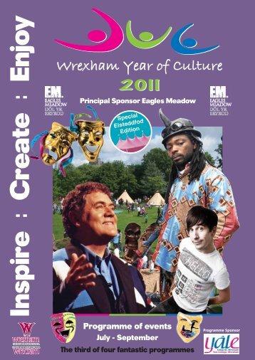 Inspire Create Enjoy - Wrexham County Borough Council