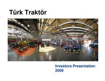 Türk Traktör - Koc Holding