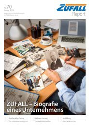 ZUFALL Report Nr. 70, January 2013 - Transland Spedition GmbH