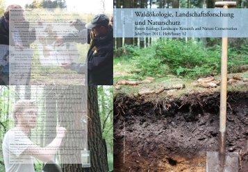 Waldökologie, Landschaftsforschung und Naturschutz, Heft 12 (2011)