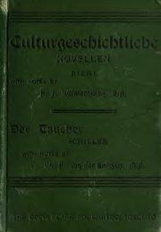 Culturgeschichtliche Novellen / with grammatical ... - Index of