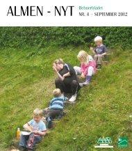 Beboerbladet ALMEN - NYT NR. 4 · SEPTEMBER 2012 - Kolstrup ...