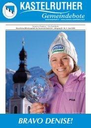Kastelruther Gemeindebote - Ausgabe April 2008