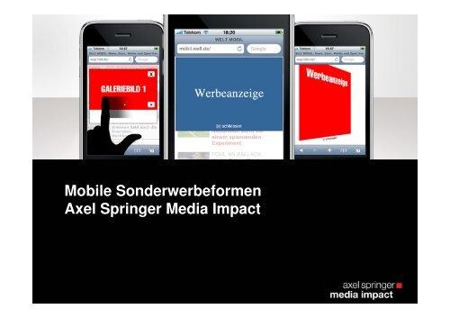 Mobile Flip - Axel Springer MediaPilot