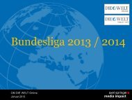 Bundesliga 2013 / 2014 - Axel Springer MediaPilot