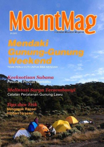 Mendaki Gunung-Gunung Weekend