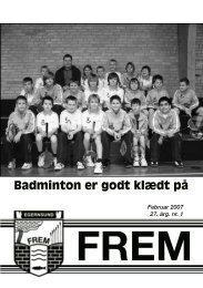 Badminton er godt klædt på - Egernsund