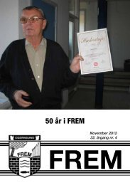 50 år i FREM - Egernsund