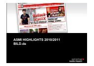 BILD Homepage Events - Axel Springer MediaPilot