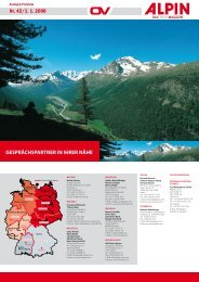 GESPRÄCHSPARTNER IN IHRER NÄHE .R - Alpin.de