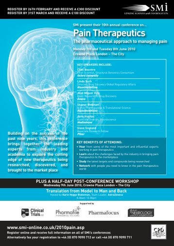Pain therapeutics - acnr - Advances in Clinical Neuroscience and ...