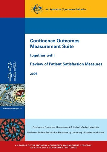 Continence Outcomes Measurement Suite - Department of Health ...