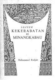 SISTEM i(EKERABATAN DI` MENA`NGKABAU - Malay Civilization