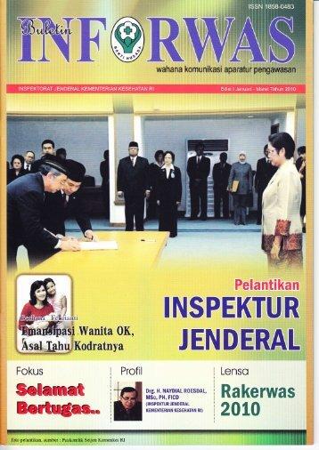 Inforwas Edisi 1 Tahun 2010 - Inspektorat Jenderal Kementerian ...