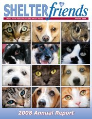 2008 Annual Report - Humane Society Silicon Valley