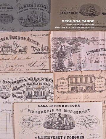 SEGUNDA TARDE - SARACHAGA