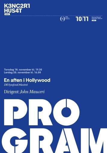 En aften i Hollywood Dirigent: John Mauceri - DR
