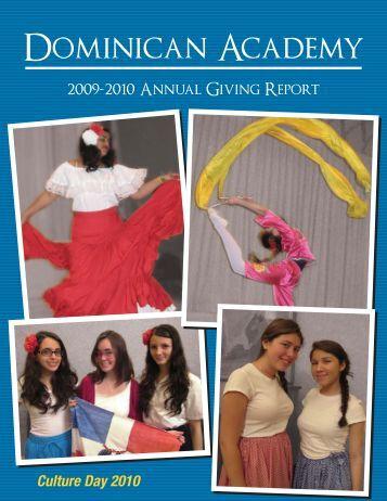 2009-10 - Dominican Academy