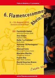 6. Flamencoso - Flamencosommer Rhein/Main