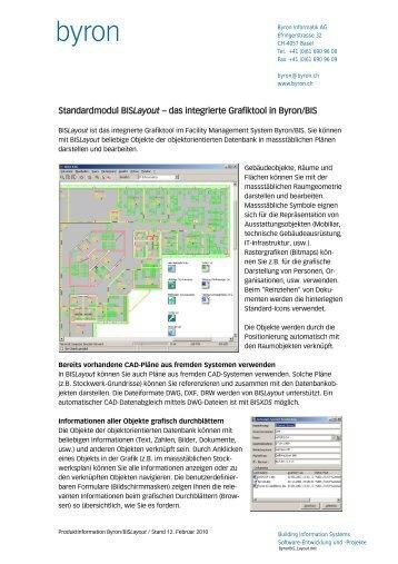 Produktblatt - Byron Informatik AG
