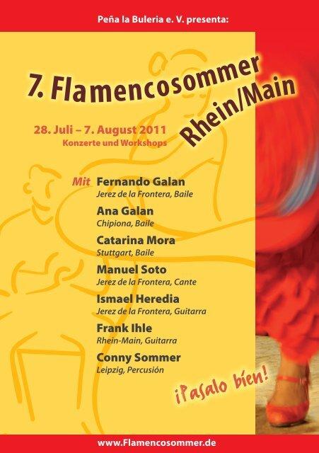 7. Flamencoso - Flamencosommer Rhein/Main
