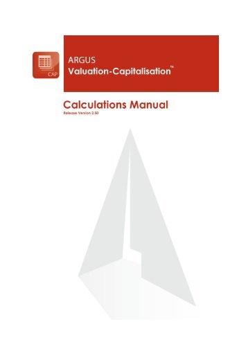 ae 9 1 calculation manual pdf argus software rh yumpu com argus valuation dcf training manual