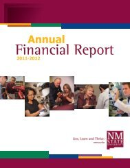Annual - New Mexico State University