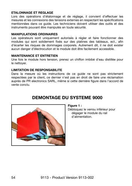 Bedienungsanleitung, Manuel, Manual, Manuale, 9113, PR ...