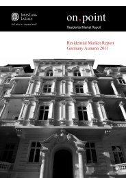 Residential Market Report Germany Autumn 2011 - Jones Lang ...