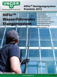 HiFlo™ Wasserführendes Stangensystem - Unger