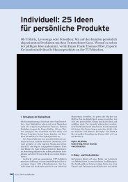 Individuell: 25 Ideen für persönliche Produkte