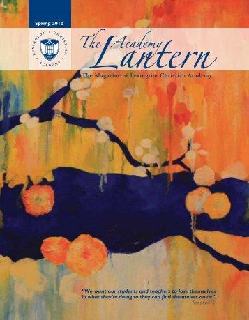 The Magazine of Lexington Christian Academy