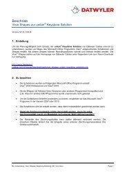PDF, 404 KB - Dätwyler