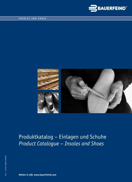 Produktkatalog – Einlagen und Schuhe Product ... - Bauerfeind AG