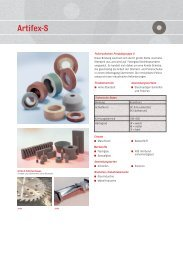 ARTIFEX - Polierscheiben Produktgruppe S