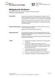 Bildgebende Verfahren - Berner Bildungszentrum Pflege