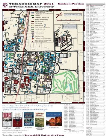 The Aggie Map - Texas A&M University Press Consortium