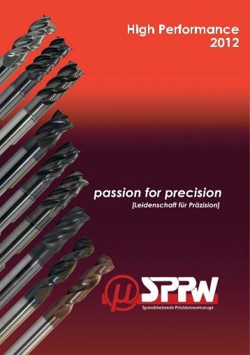 Flyer HPC-Werkzeuge - Spanabhebende Präzisionswerkzeuge GmbH