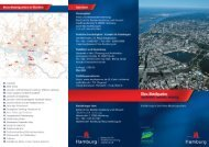 Flyer Klima-Modellquartiere in Hamburg - luchterhandt